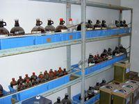 薬品保管庫